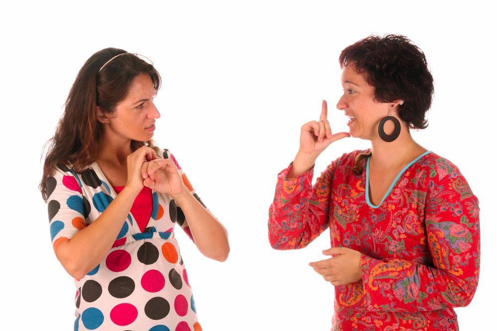 comment apprendre la langue des signes