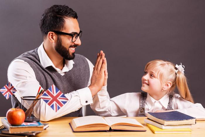 prof particulier anglais pour enfant